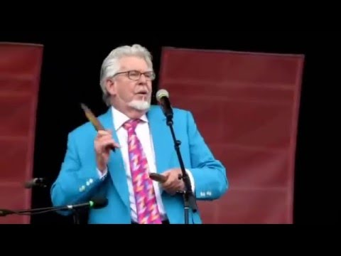 Rolf Harris - Sun Arise, Didgeridoo and Dal Richards Orchestra at PNE 2010