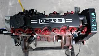 Замена двигателя 2часть Daewoo Nexia 1,5 Дэу Нексия 2001 года
