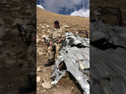 DC-3 on the Armenian mountains