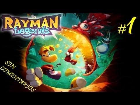 RAYMAN: Legends - 01 - Despertar - Español HD 1080p Gameplay Parte 1 Walkthrough