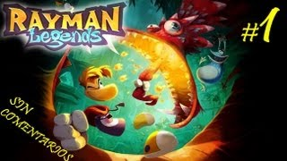 RAYMAN: Legends - 01 - Despertar - Español HD 1080p Gameplay Parte 1 Walkthrough