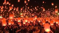 Festival des lanternes volantes au nord de la Thaïlande