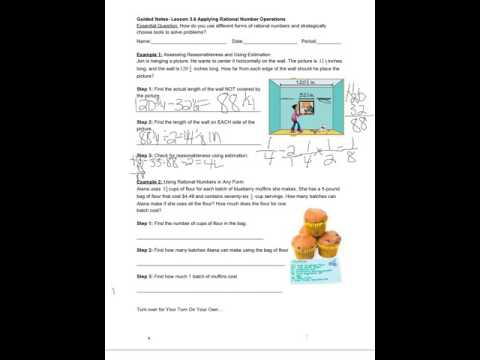 Lesson 36 applying rational number operations youtube lesson 36 applying rational number operations ibookread Download
