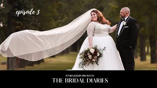Ivory&Main - Plus Size Bridal Fitting - NY Bridal Shop - The Bridal Diaries ep. 3