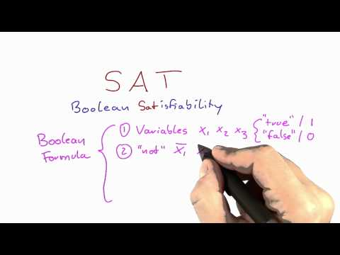 Boolean Satisfiability Problem - Intro to Theoretical Computer Science