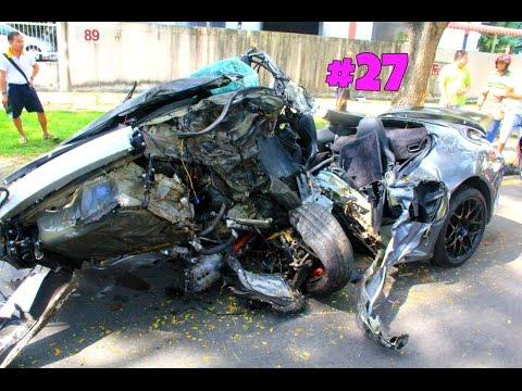 Amazing CAR CRASH COMPILATION - Crazy Traffic Accident - Best Dash Cam Crash Collision Part.27