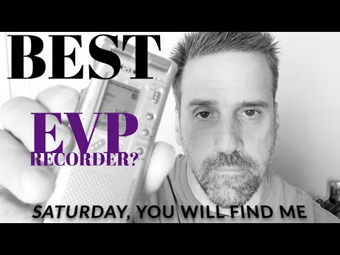 The BEST EVP Recorder? - SONY ICD-ST 25 - INCREDIBLY Clear EVP
