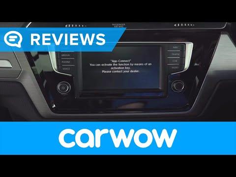 Volkswagen Touran 7 Seater 2018 infotainment and interior review | Mat Watson Reviews