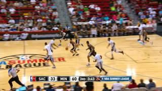 Sacramento Kings vs Minnesota Timberwolves Summer League Recap