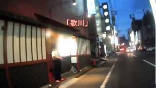 吉原ソープランド街 夜の散策1 Walkng of Yoshiwara TOKYO Red-light district 1 東京風俗夜の歓楽街
