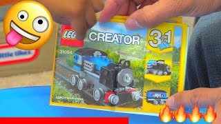 Lego Trains!  3 in 1 and Thomas and Friends - 4K
