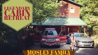 LEGENDARY COUPLES CABIN TRIP // Pigeon Forge, Tennessee // The Mosley Family Vlog Vol. 3