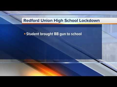 Police: Redford Union High School placed on lockdown after BB gun found