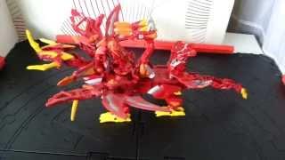 BAKUGAN-Dragonoid Colossus.Обзор бакугана.(В этом видео я