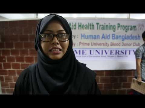 First Aid Health Training Program