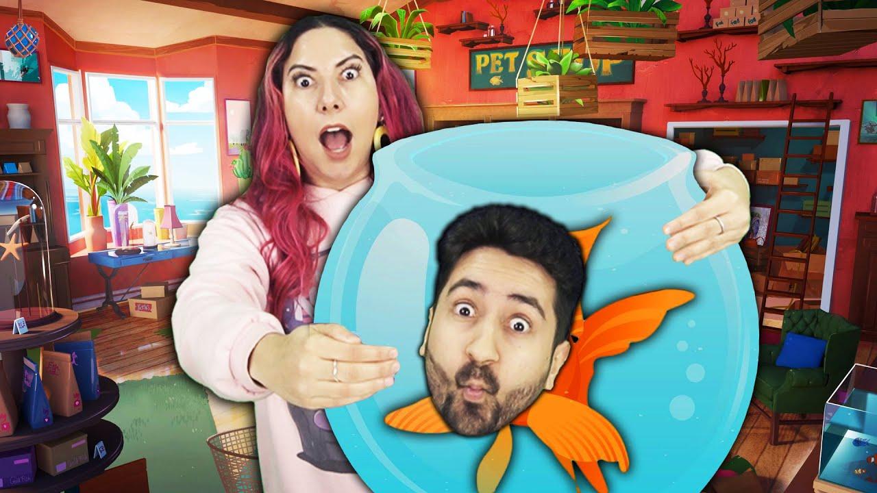 Download VIRAMOS UM PEIXE E PRECISAMOS ESCAPAR no I am Fish - Série #1