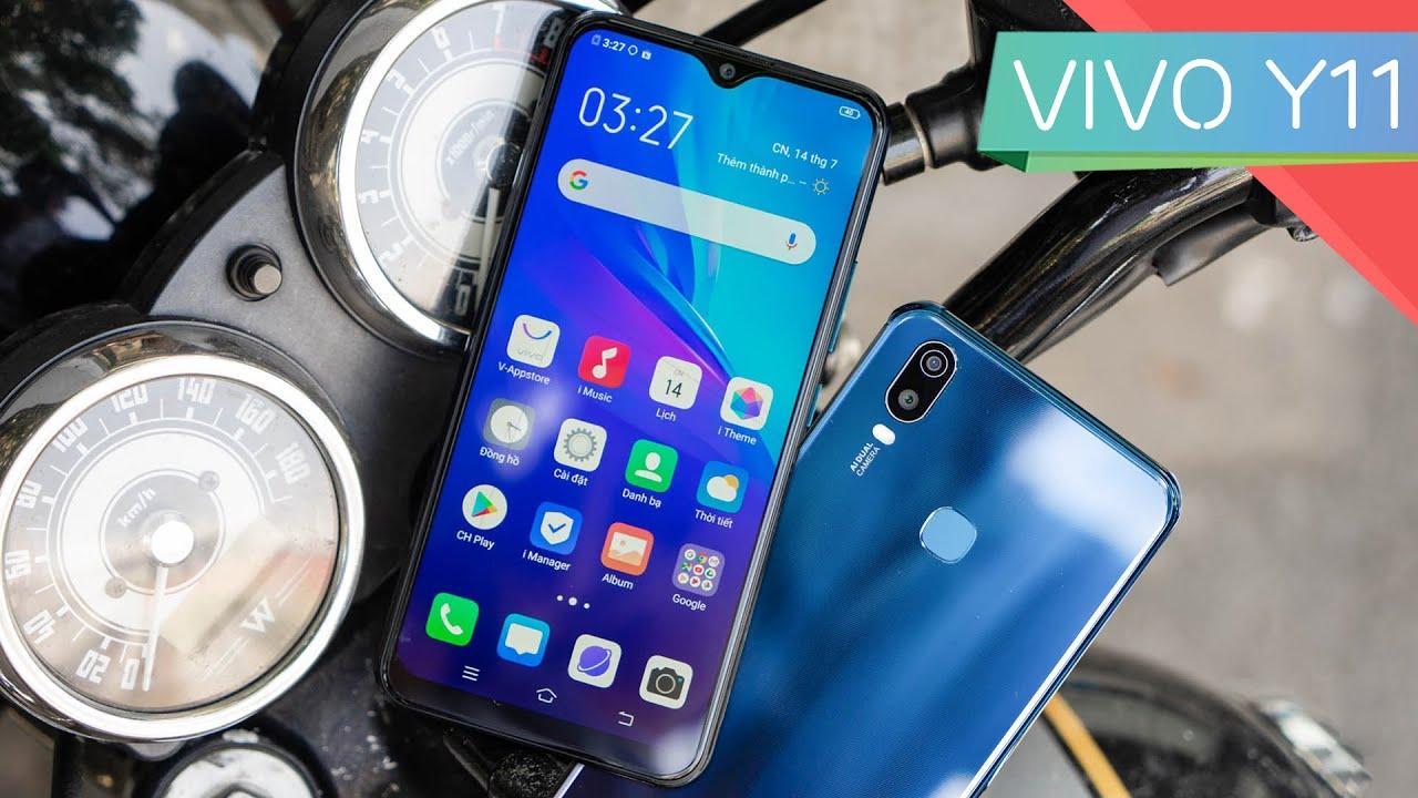 Trên tay Vivo Y11: Màn Halo FullView, pin trâu 5.000 mAh, giá chỉ 2.99 triệu