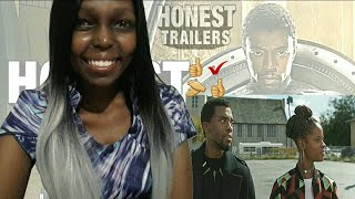 Honest Trailers Black Panther Reaction!!