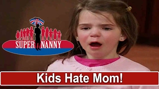 Teens & Toddlers Hate Mom | Supernanny USA