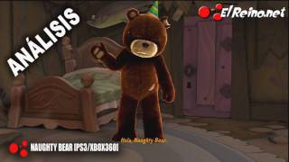 Vídeo análisis / review Naughty Bear - X360/PS3