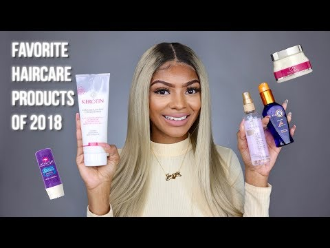 Favorite Haircare Products Of 2018 | Jazzie Jae T