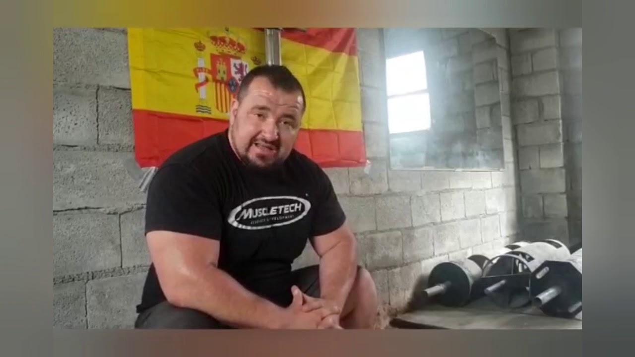 Noticias Súper Hombre 105 kilos. Y un poco del entreno de uno de los futuros Súper Hombres 105