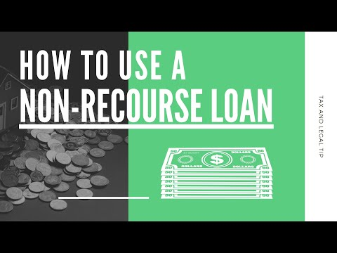 What is a Non-Recourse Loan and How to Use it | Mark J Kohler | Tax & Legal Tip