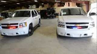 Lubbock County Sheriff's Office Tahoes