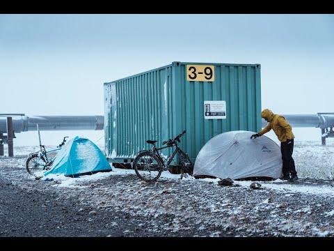 Camping on the Dalton Highway in Alaska    Bicycle Touring Argentina to Alaska   Kamran On Bike thumbnail