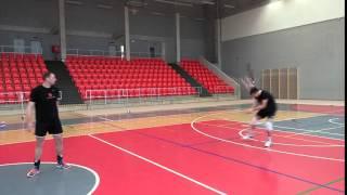 Volleyball service headshot - VK ČEZ Karlovarsko