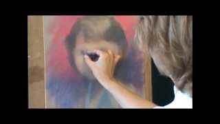 Как нарисовать портрет пастелью(ч.1).wmv(http://risuemvmeste.com/?page_selling=master-gruppa-risuem-vmeste Продвинутые курсы рисования портрета в различных техниках ..., 2012-05-15T10:54:37.000Z)