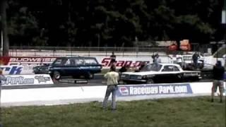 Nostalgia Super Stock Pontiacs at Englishtown