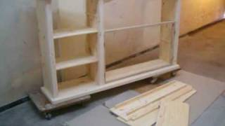 Fabrication D'un Meuble Sans Grosse Machine....