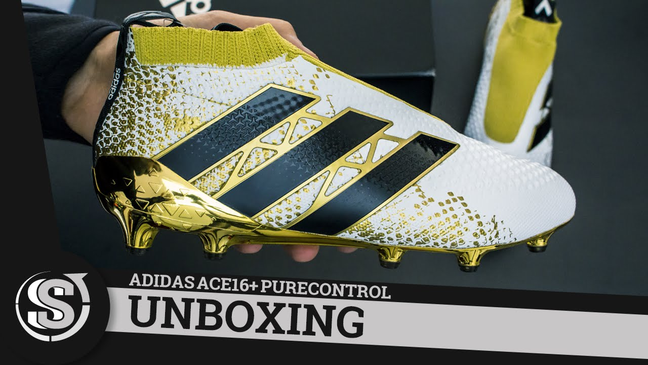 adidas ACE 16+ PureControl Stellar Pack - Unboxing - YouTube ae76d6124