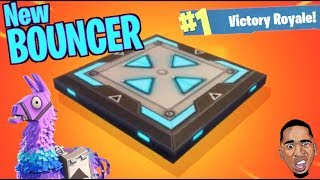 NEW BOUNCE PAD! Fortnite Battle Royale Gameplay