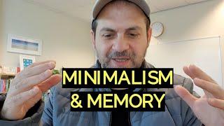 Minimalism and Memory Training