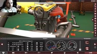 Создание двигателя митсу,проект с нуля,3d модель 4g63t