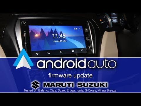 [Free download] How to install Android Auto update for Ciaz and other cars