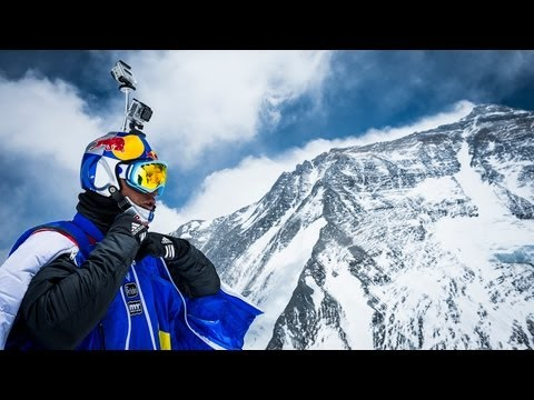 World's Highest BASE Jump - Flying from Mt. Everest