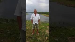 Ibicuitinga: Açude do Muquém que estava 100% seco, agora está prestes a sangrar