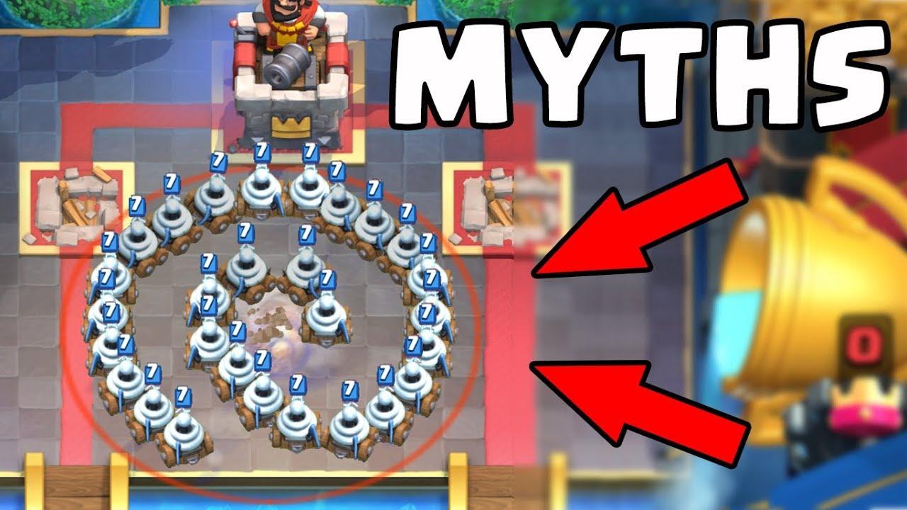 Top 10 des mythes à Clash Royale | Mythes # 8 + vidéo
