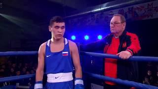 Финал. ПФО - СФО. 60 кг. Габил Мамедов vs Игорь Катаев (Новосибирская область). Бокс.