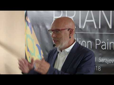 Artist's talk by Brian Eno | History Museum of BiH | Sarajevo