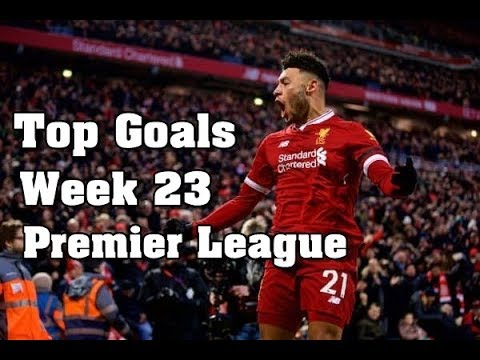 Top Goals Premier League Highlights ( English Commentary ) | Week 23 | 2017/18 HD