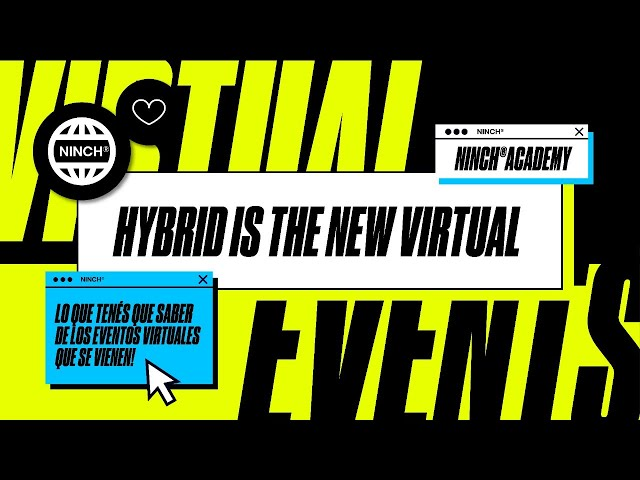 NINCH ACADEMY: HYBRID IS THE NEW VIRTUAL