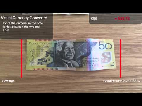 Visual Currency Converter