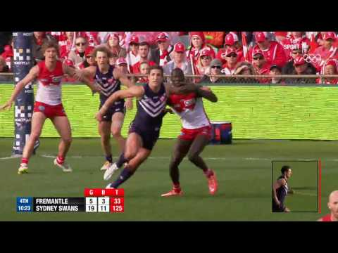 Pavlich goals in game 350 - AFL