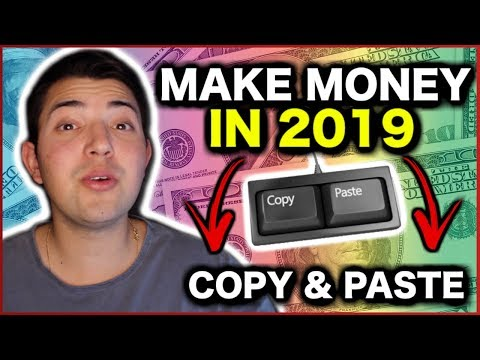 MAKE MONEY ONLINE WITH COPY & PASTE! {EASY & FAST} 2019