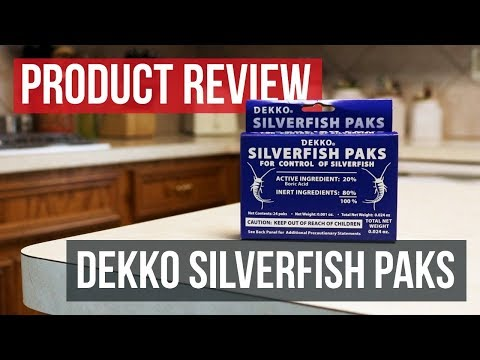 Dekko Silverfish Paks: Product Review