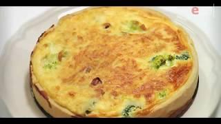 Пирог с брокколи, ветчиной и луком - Киш Лорен / французская кухня / Илья Лазерсон / Мировой повар